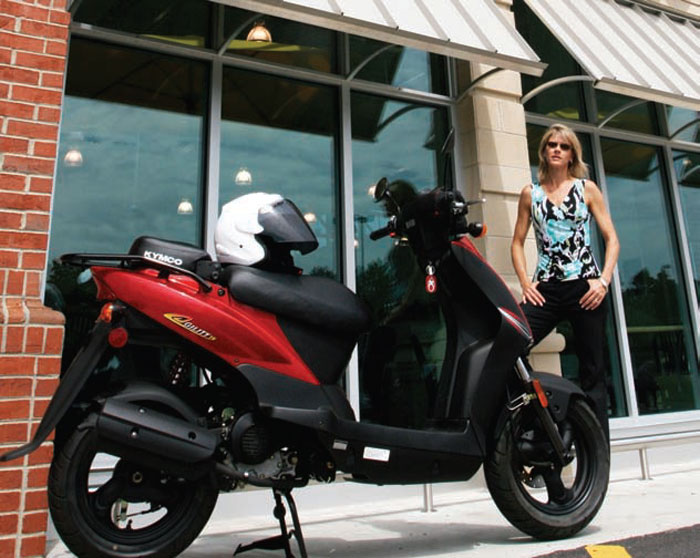 2012 Kymco Agility 50 Picture