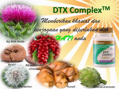 Tonik hati dengan DTX Complex Shaklee