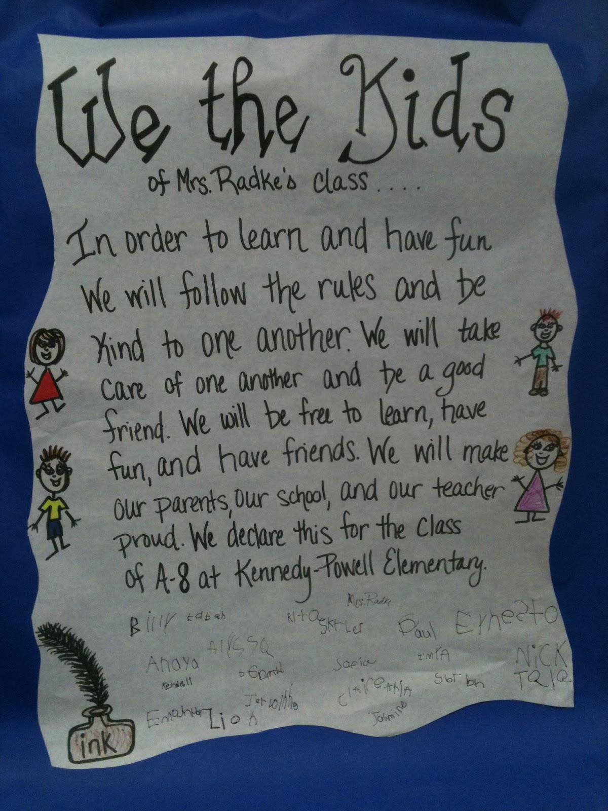 Kreative in Kinder: We the Kids!