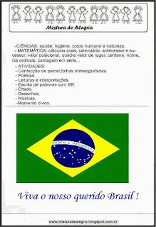 Projeto semana da patria-independencia do brasil