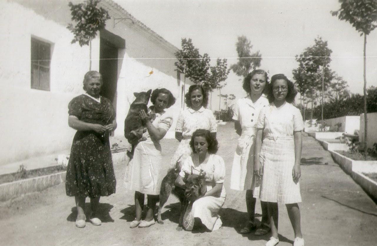 Masía de San Mauro, carretera de Godella a Betera, Godella, Valencia, 1943