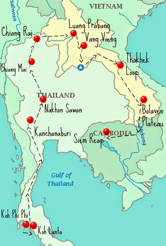 Koh Phi Phi to Siem Reap