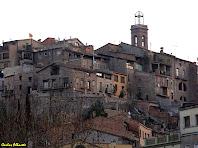 El Poble Vell de Súria des de la Plaça de Sant Joan. Autor: Carlos Albacete