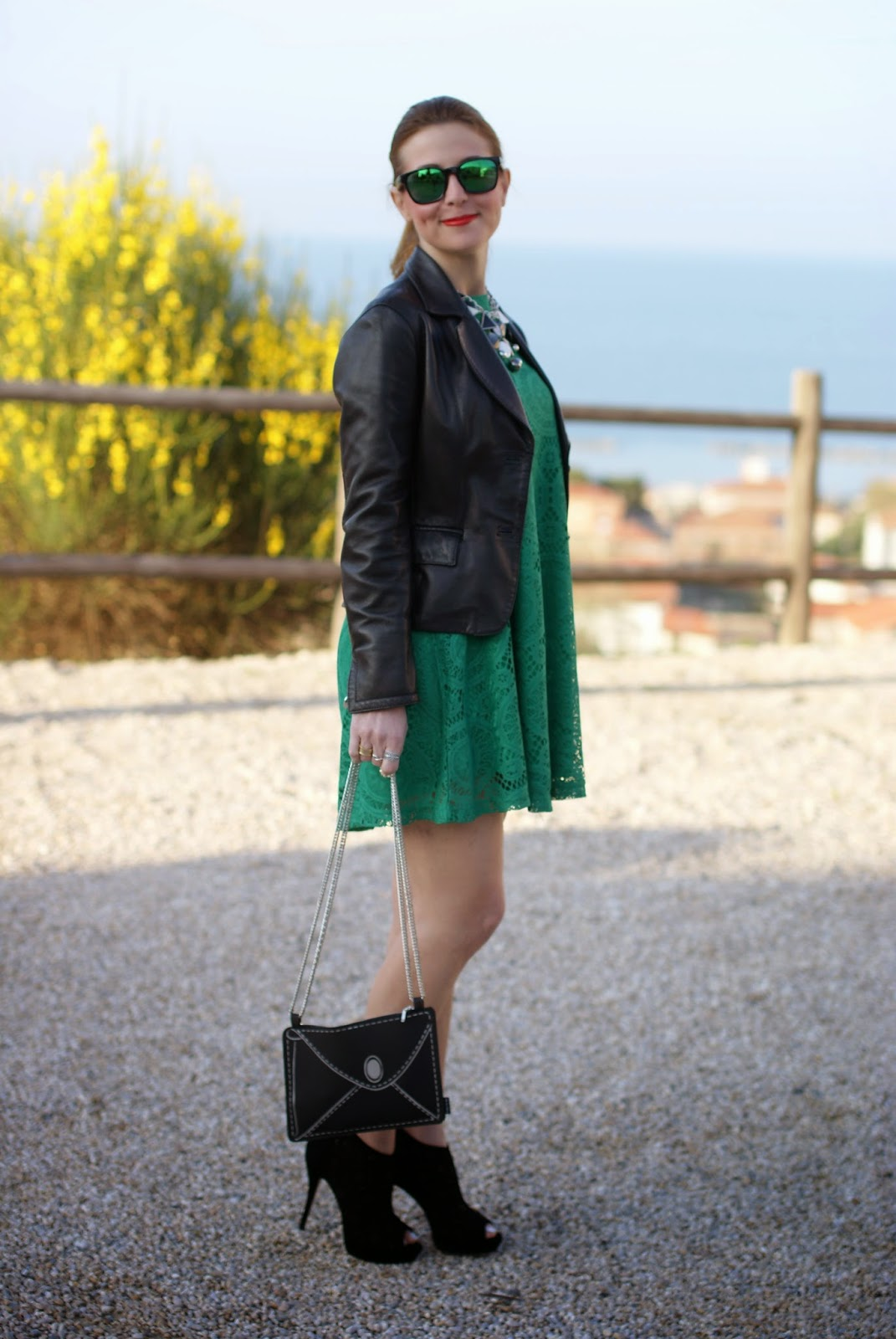 Vitti Ferria Contin jewelry, Today I'm me evening bag, Sheinside green dress, Fashion and Cookies, fashion blogger