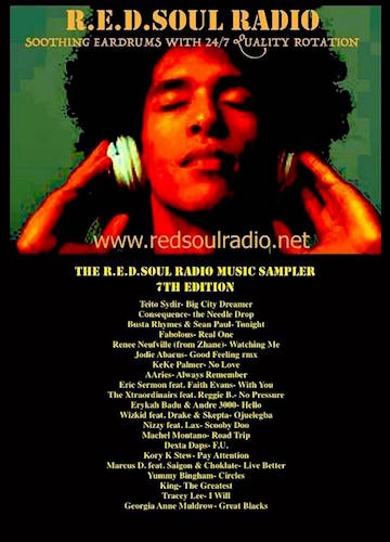 THE REDSOUL MUSIC SAMPLER 7.0