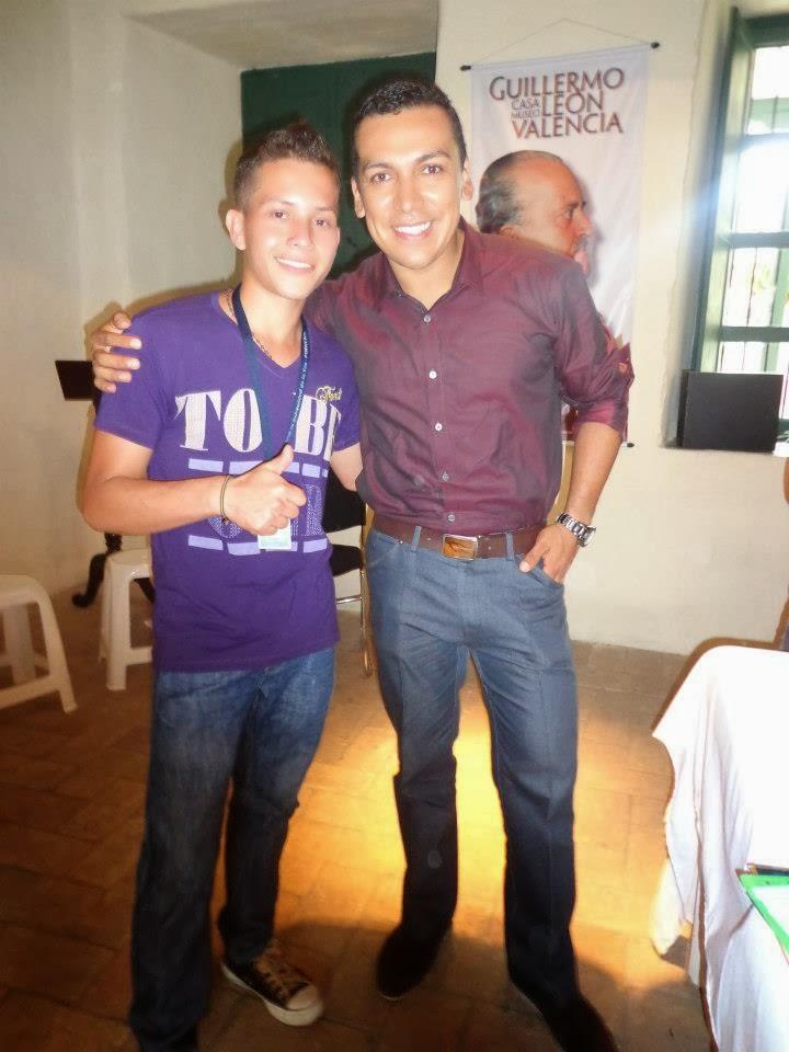 Con Andres Oscue Presentador de Amaneciendo Programa de Telepacifico