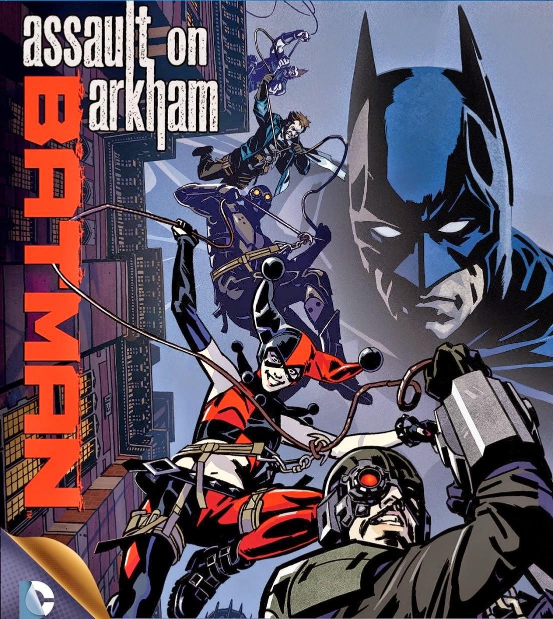 Batman Assault on Arkham (2014) แบทแมน ยุทธการถล่มอาร์คแคม Full HD มาสเตอร์ พากย์ไทย