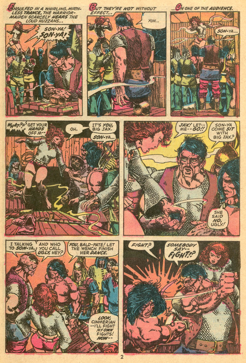 Conan the Barbarian (1970) Issue #24 #36 - English 3