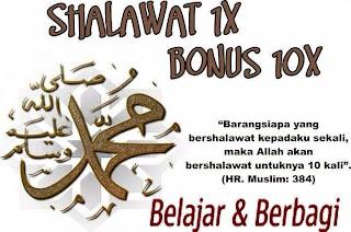 Shalawat Atas Nabi Muhammad SAW
