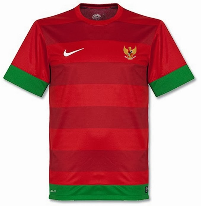 Jersey Timnas Indonesia Home