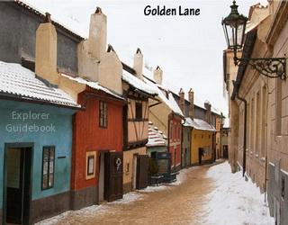 Golden Lane kastil Praha