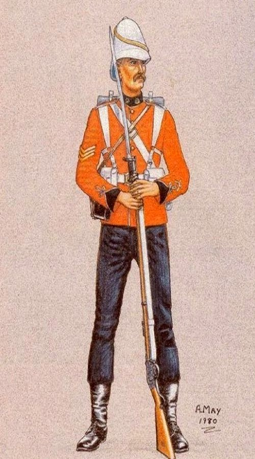 58th (Rutlandshire) Regiment of Foot