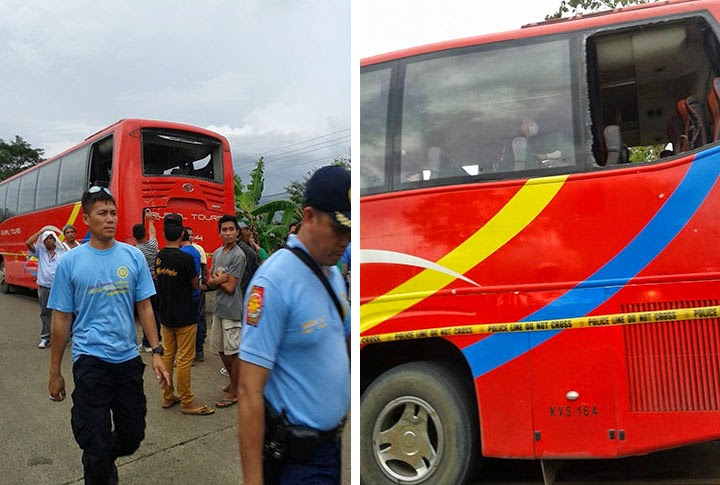 Bomb Explosion Inside Bus in Bukidnon