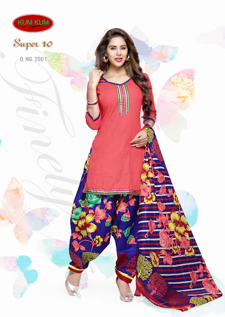 Churidar Cotton Dress Material – Buy Online