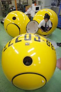 CRIATIVIDADE: No Japão cápsula foi criada para salvar vidas em casos de tsunam