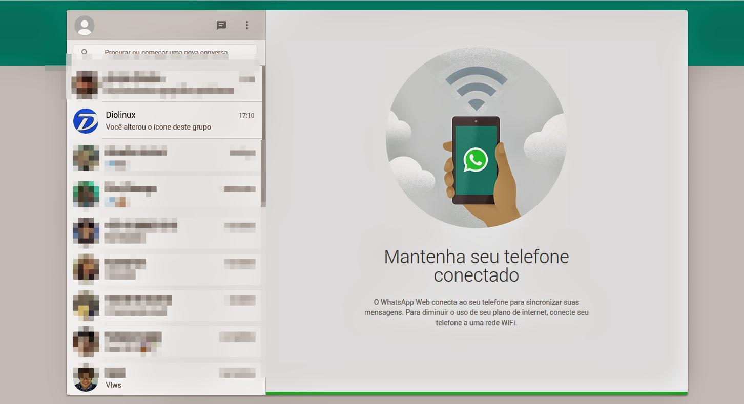 WhatApp pelo Navegador