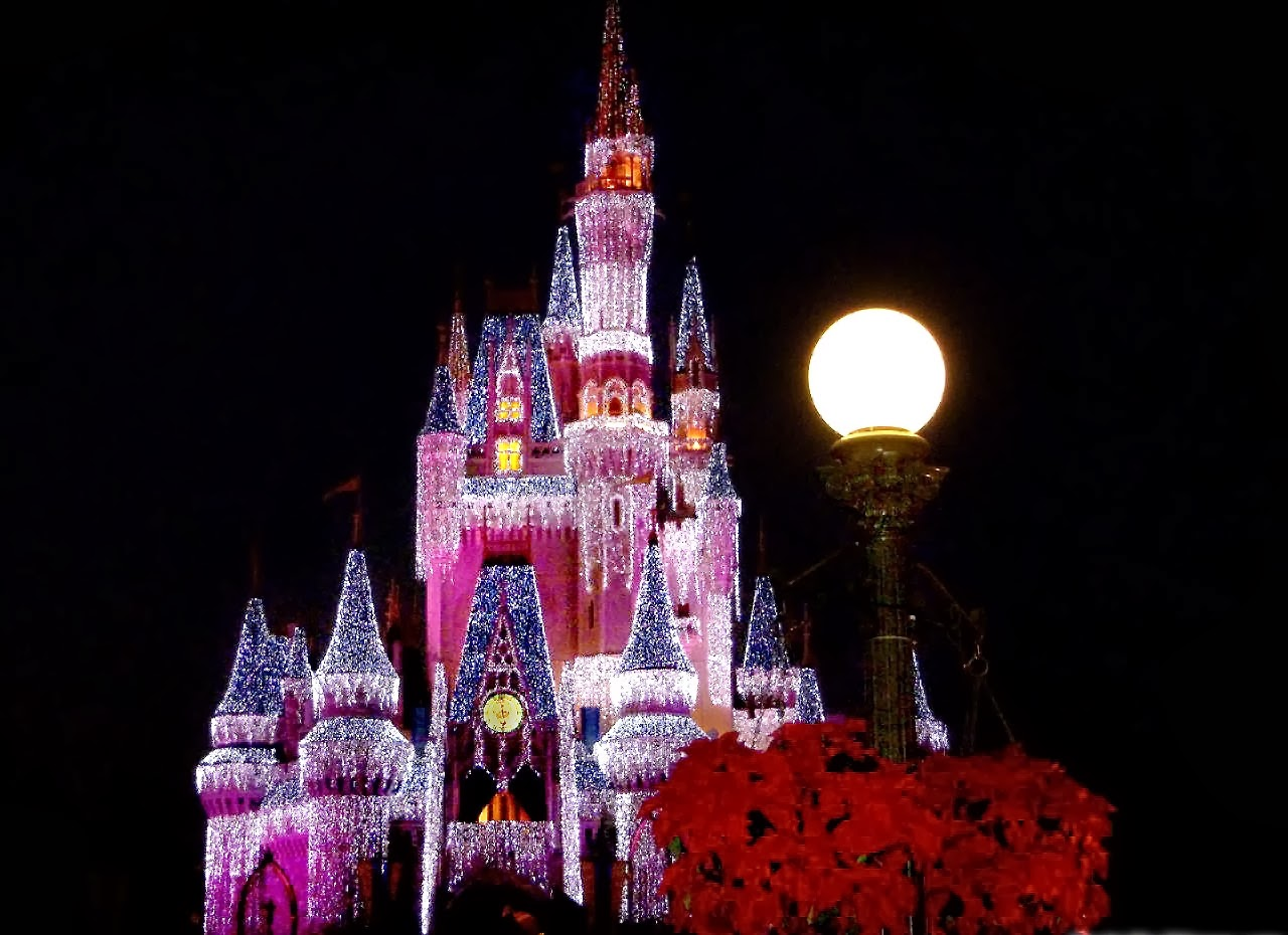 Disney Castle HD Wallpapers Free Download