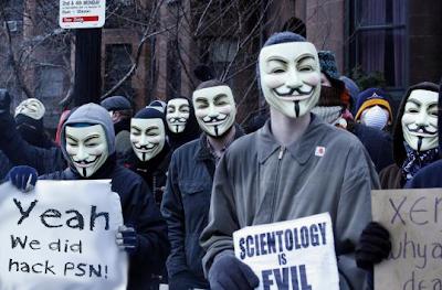 Koleksi Topeng Anonymous Keren