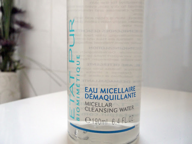 etat pur micellar water cleanser