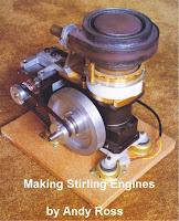 Manual do motor Stirling, o livro que conta a trajetória de Andy Ross em 10 anos com seus motores