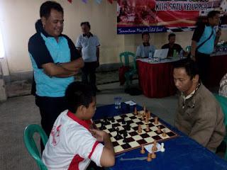 Club Catur Sapu Bersih Gelar Juara Lomba Catur HUT Bhayangkara ke-69