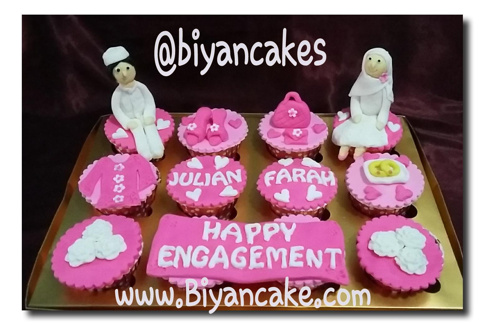 cupcake hantaran pernikahan ~ Nasya