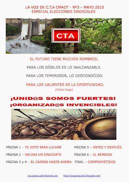 Revista nº3 de la Sección Sindical de C.T.A. en la Consejería de Medio Ambiente y Ordenación del Te