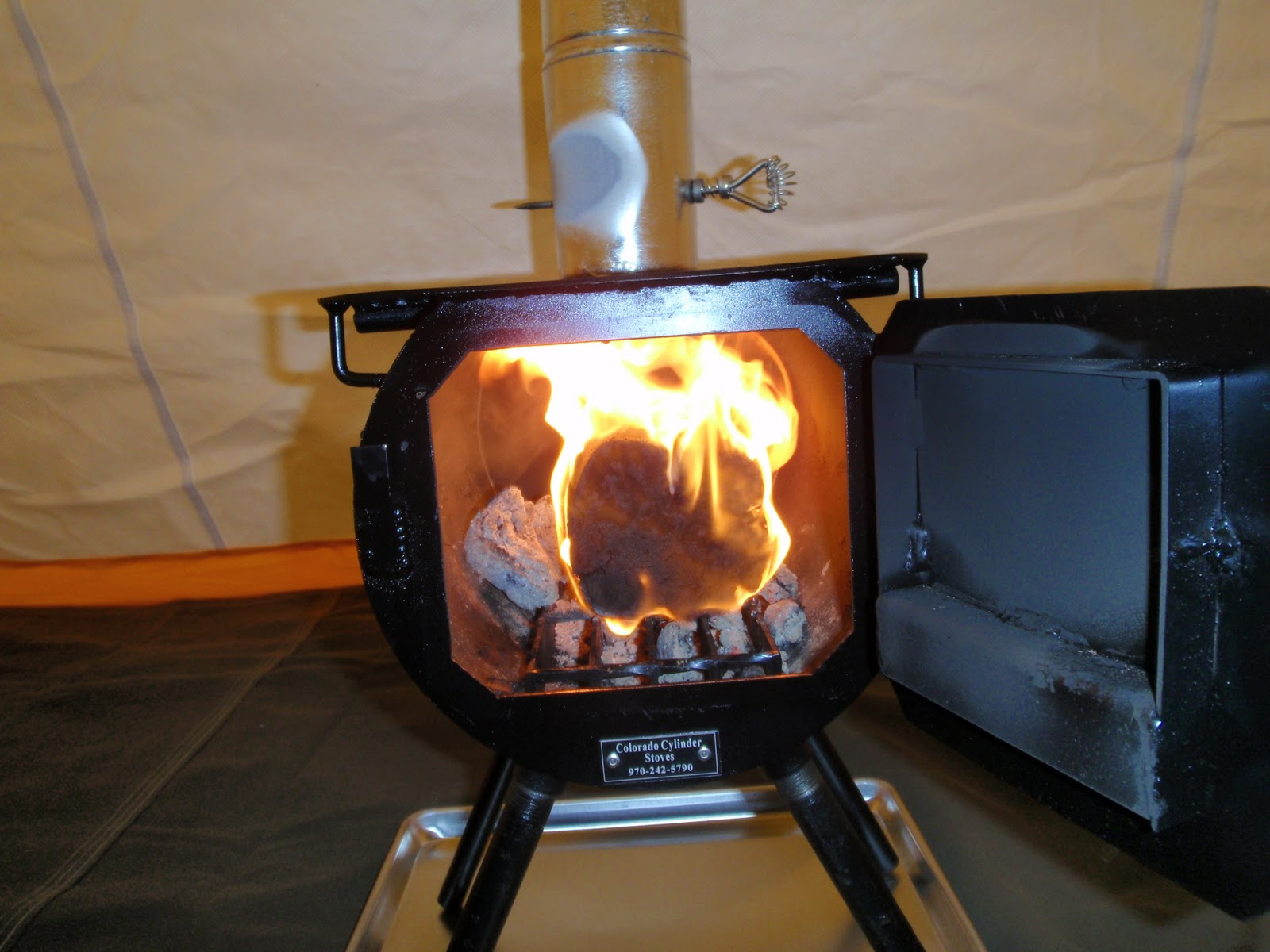 Inside of stove. & The Long Awaited Arctic Oven | Alaskan Adventures