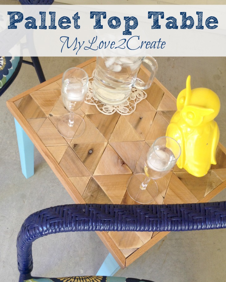 MyLove2Create, Pallet Top Table