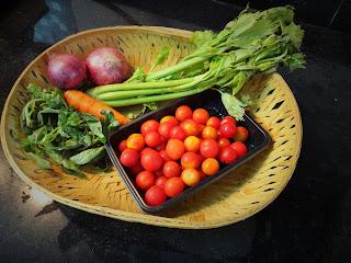 Tomato Soup with Celery & Basil