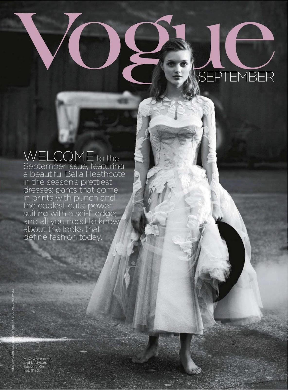 Heathcote Australia  city pictures gallery : Bella Heathcote @ Vogue, Australia, September 2012 Fashion Mags ...