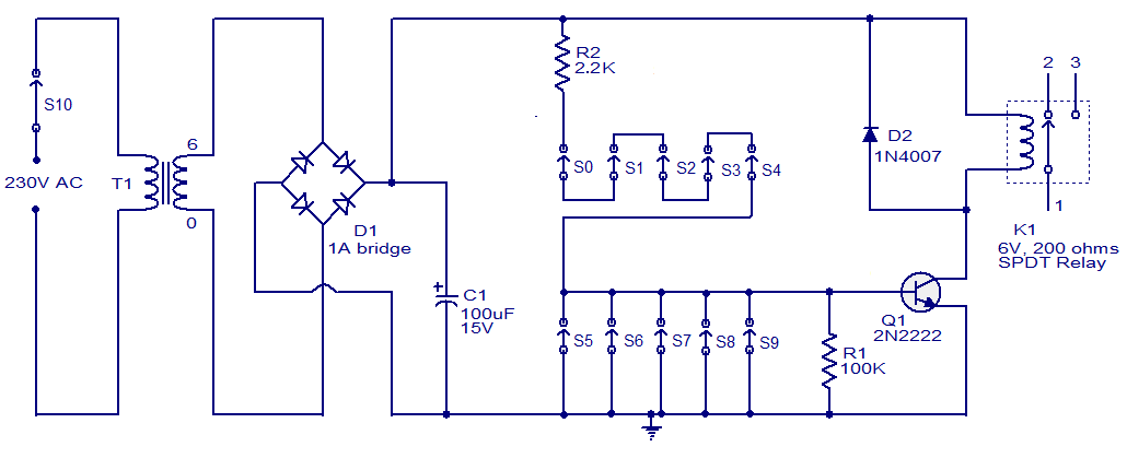 collection schematic diagram of simple circuit pictures   diagramssimple schematic diagram