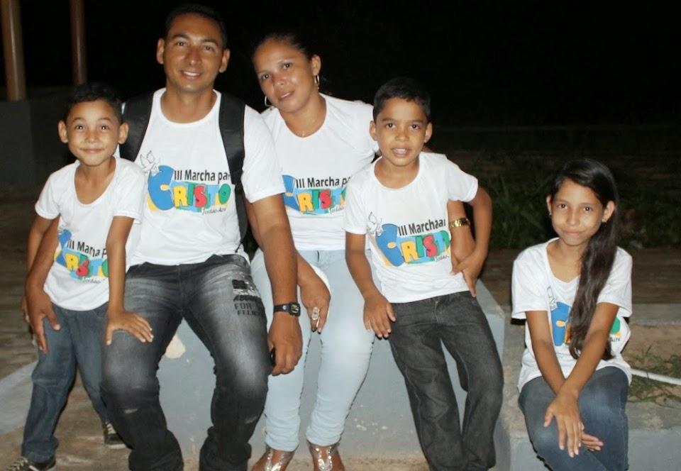 João Bráz e família