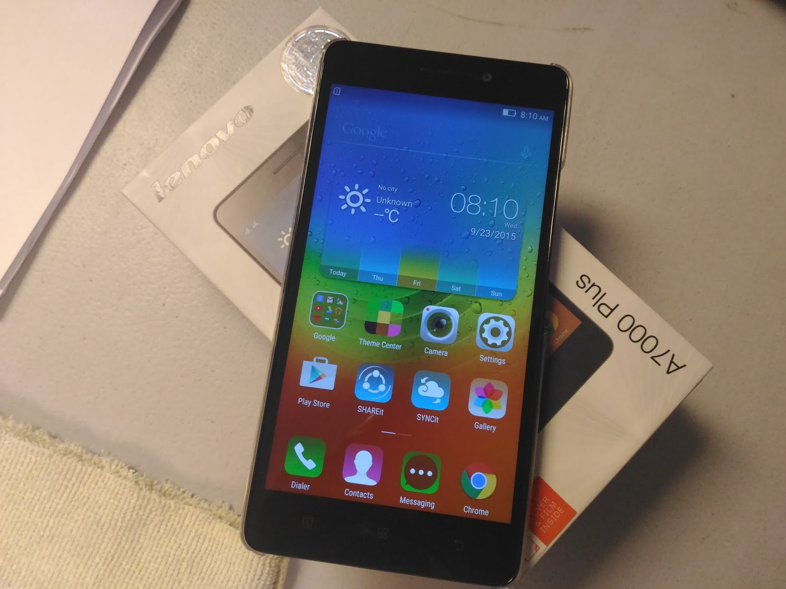 Lenovo A7000 Plus Unboxing And First Impression