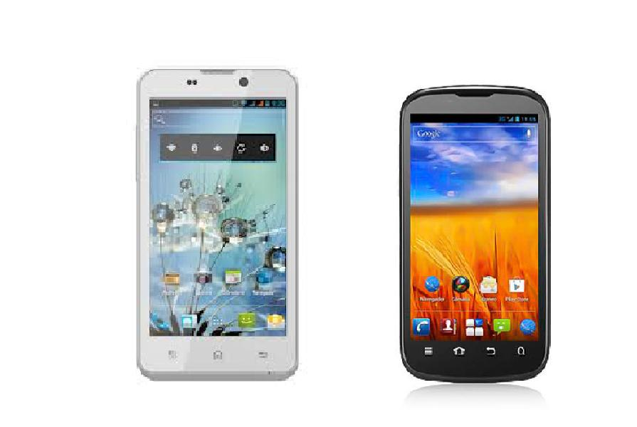 BQ Aquaris vs ZTE Grand XM