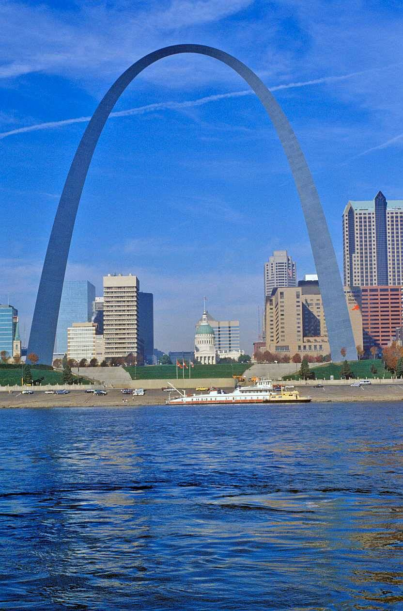 The gateway arch unseen pictures 4 you for St louis architecture