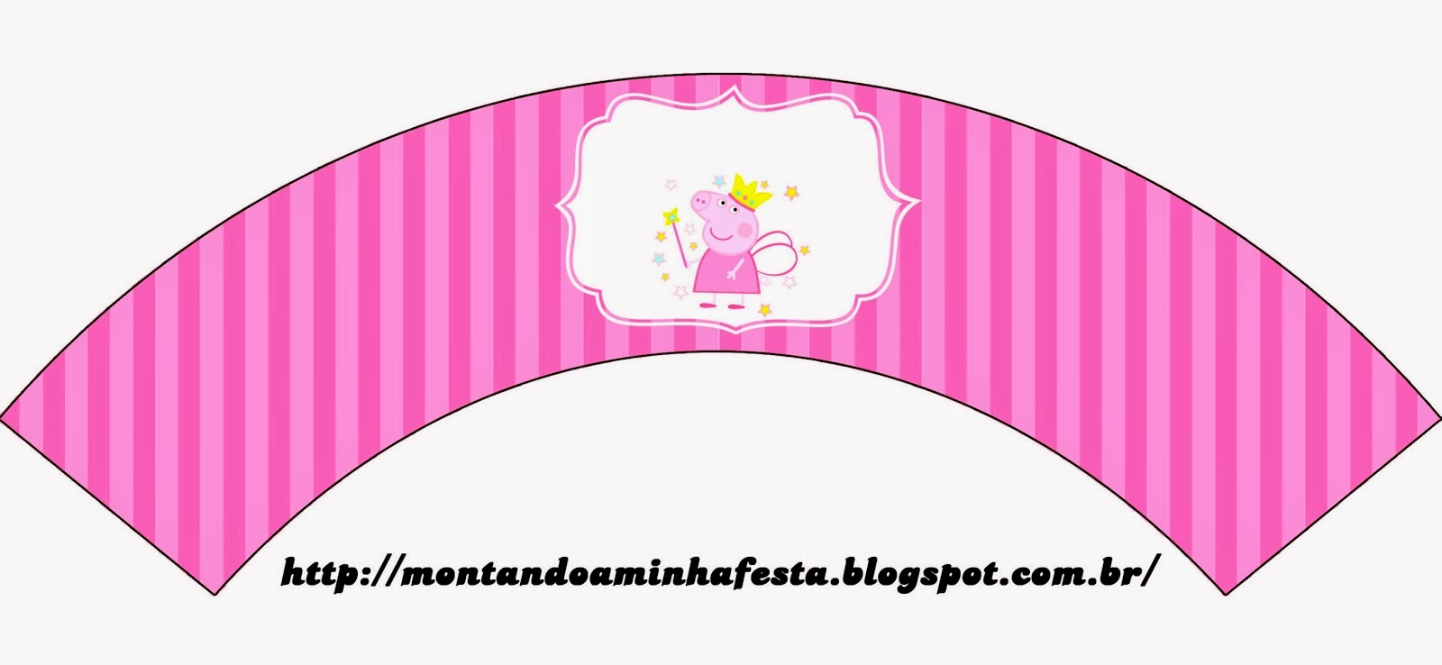 Peppa pig fairy invitations and free party printables is it for