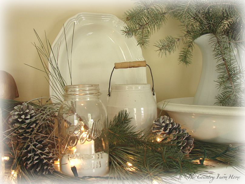 farmhouse christmas style - Farmhouse Christmas