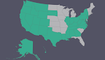 Our USA Travel Map, 2014-2016