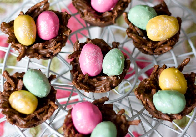 Erica 39 S Sweet Tooth Cookie Dough Eggs And Chocolate Pb Nests