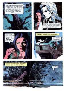 Grimm's Ghost Stories v1 #8 - Al Williamson gold key 1970s horror bronze age page art