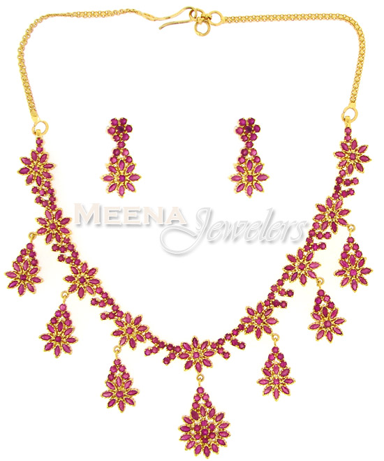 ruby jewelry sets jewellery in