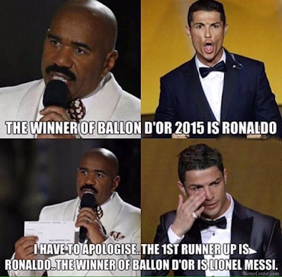 Memes Balón de oro 2015