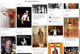 screenshot of pinterest board