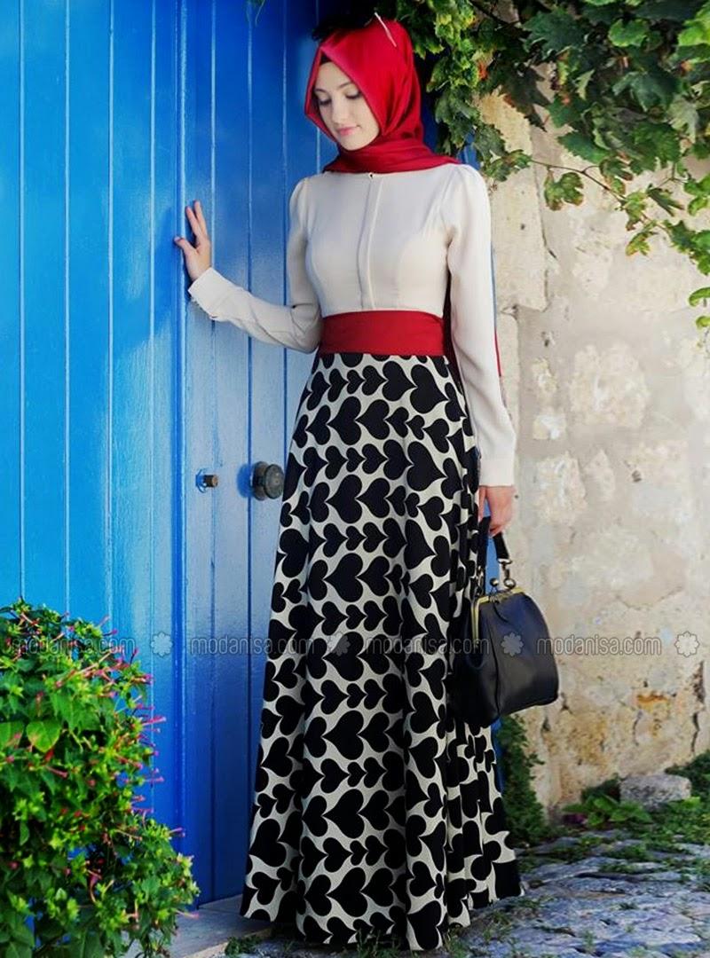robe-hijab-jupe-longue-2015