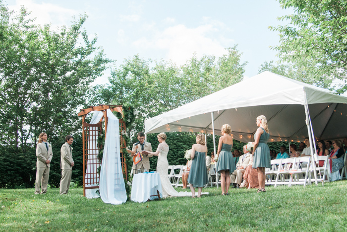 wayfaring wanderer a north carolina backyard farm wedding