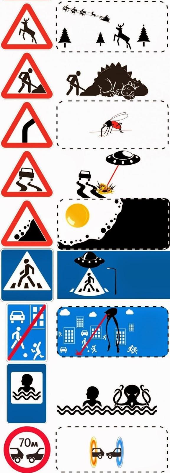 rambu lalu lintas terunik, rambu lalulintas, lalulintas, rambu terunik, lalu lintas unik