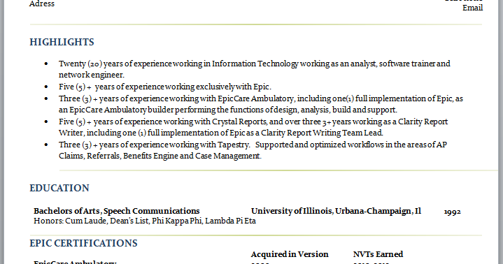 Best Resume Ive Ever Seen