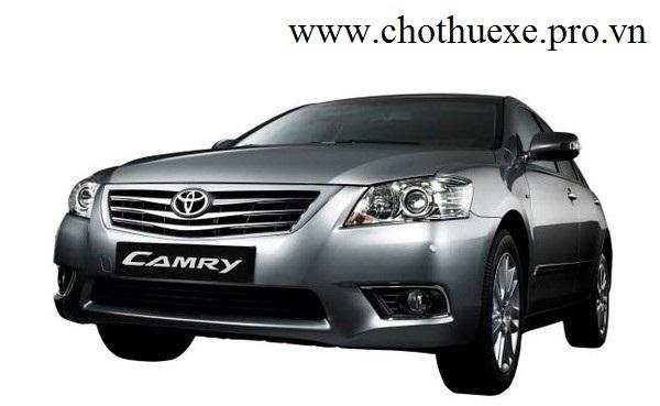 cho thuê xe 4 chỗ Toyota Camry 3.5 Q sang trọng chất lượng