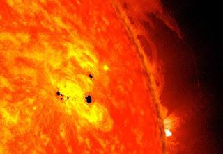 Bintik Gelap Di Permukaan Matahari